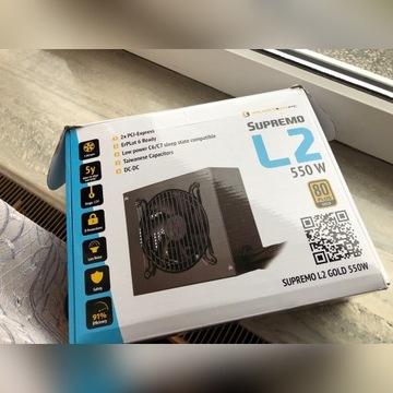 Zasilacz Silentiumpc Supremo L2 550w GOLD