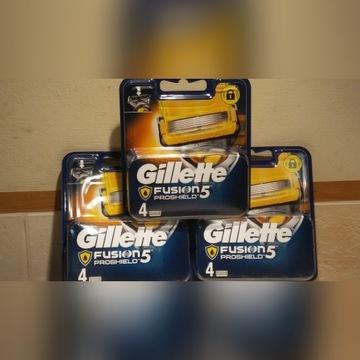 Gillette PROSHIELD 4szt  Oryginalne Wkłady