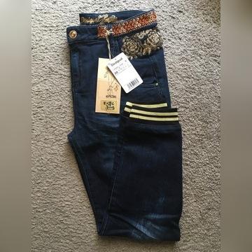 Desigual nowe spodnie z metkami exotic jeans
