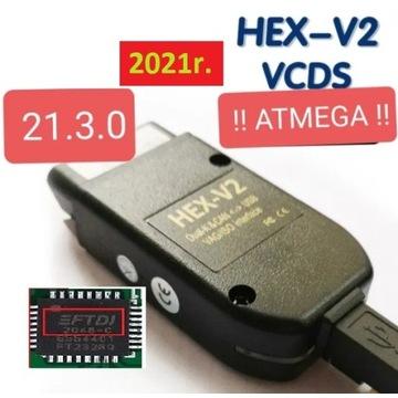 HEX V2 21.3.0 PL VCDS Vag Nowy Chip 2021r.