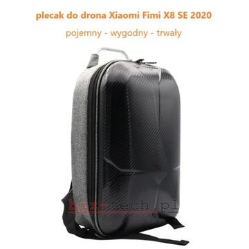 plecak dron Fimi X8 SE 2020 pojemny lekki schowki