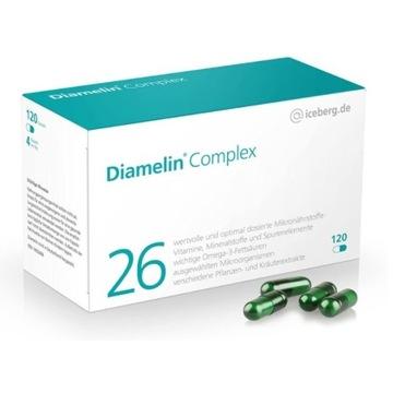 Diamelin Complex 26 mikroelementów dla diabetyków