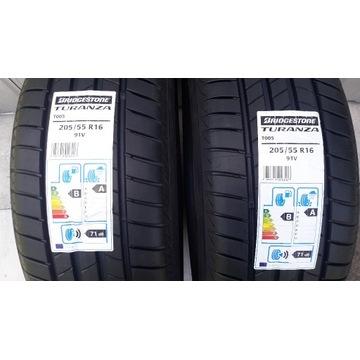 2x 205/55R16 91V Bridgestone Turanza T005 2021