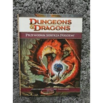 Dungeons and Dragons przewodnik mistrza podziemi