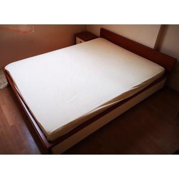 Kompletna sypialnia łóżko 160*200 komoda 3 szafki