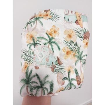 Otulacz 100% bambus, Aloha, Kwiaty