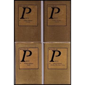 Prus Pisma wybrane tom 1-6 Biblioteka klasyków