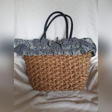 Modna torebka koszyk