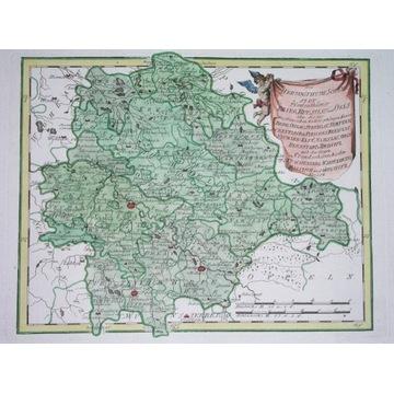 1791 MAPA POLSKA ŚLĄSK WROCŁAW OŁAWA BRZEG MILICZ