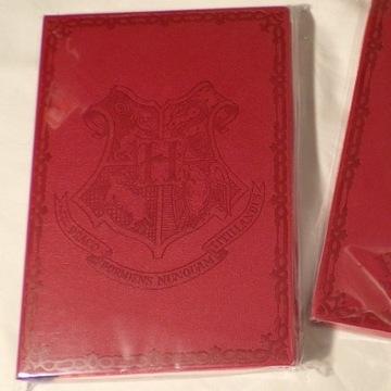 Czerwony notes, zeszyt, dziennik. Harry Potter.