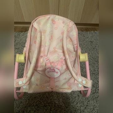 Leżaczek nosidełko Baby Annabell
