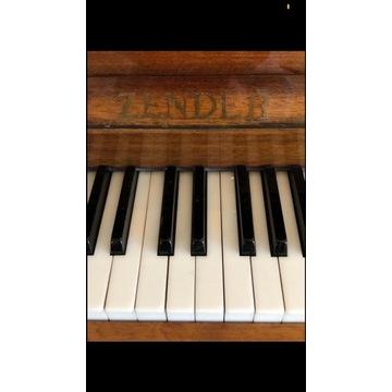 Piękne pianino firmy ZENDER. Nastrojone.