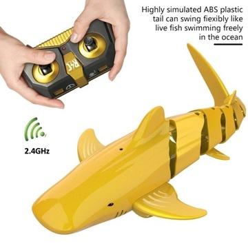 Rekin zabawka zdalnie sterowany