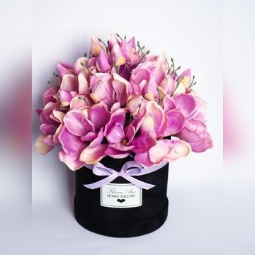 Flower Box Magnolie Kwiaty w pudełku