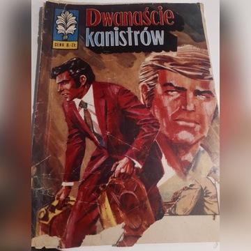 Komiks Kapitan zbik dwanascie karnistrow