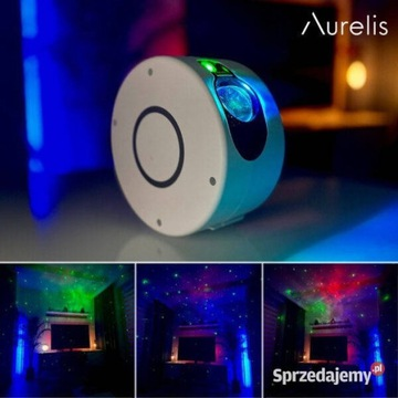Projektor Laser GalaxyStar Lampka Projektor Gwiazd