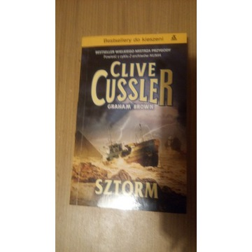 Clive Cussler, G. Brown - Sztorm  cykl Kurt Austin