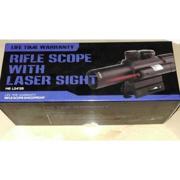Celownik optyczny z laserem