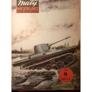 PZInż 130 Polski lekki czołg pływający [MM 9/1981]
