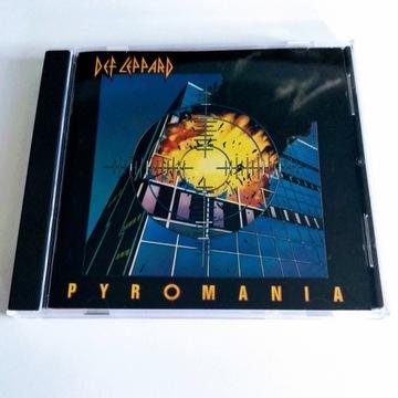 """DEF LEPPARD - """"PYROMANIA"""" CD"""