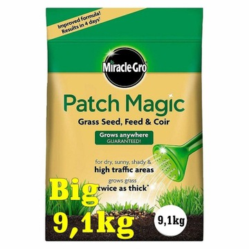 Nasiona trawy Miracle-Gro 9,1 kg Patch Magic Gras