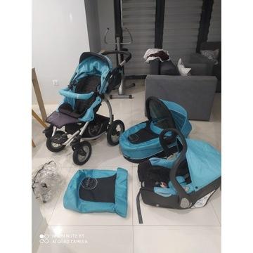 X-LANDER 3w1 Wózek wielofunkcyjny dziecięcy OKAZJA