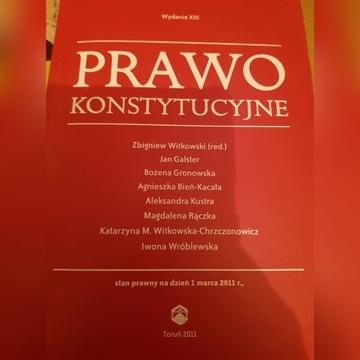 Prawo Konstytucyjne Witkowski
