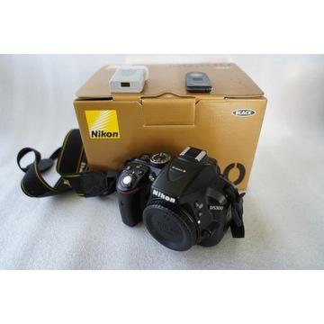 NIKON D5300 aparat fotograficzny + obiektywy
