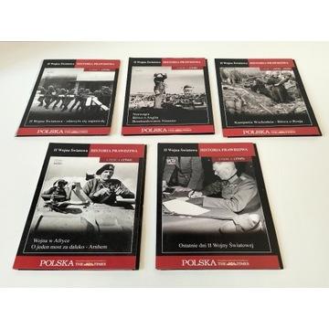 II Wojna światowa historia prawdziwa na VCD komple