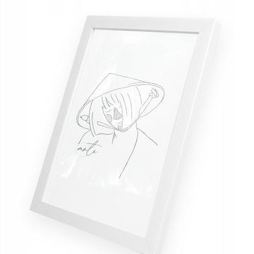 Ramki na zdjęcia 10x15 - Ramka Biała