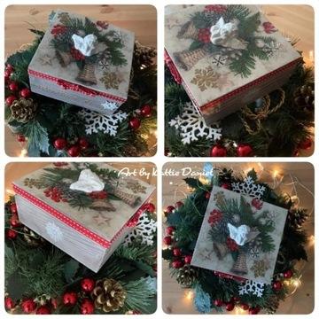 Szkatułka Boże Narodzenie