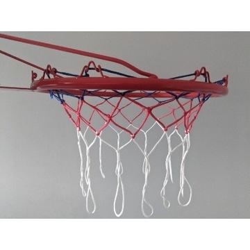 Obręcz do koszykówki z siatką + wkręty