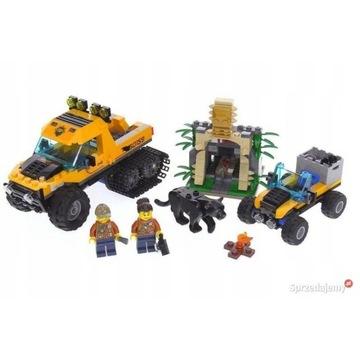 LEGO City 60160 Mobilne laboratorium JAK NOWE
