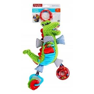Krokodyl zabawka sensoryczna Fisher price