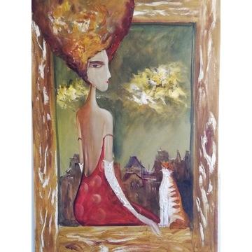 ,, Madame ,, 100x70cm Artur Sudak