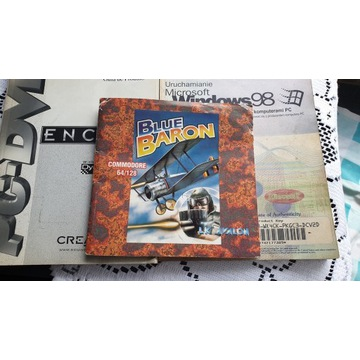 blue baron gra na commodore 64/128 oryginał