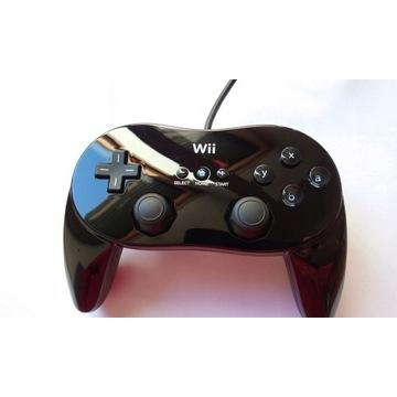 Nintendo Wii Classic Pro Kontroler RVL-005 Czarny