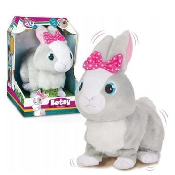 Tusia interaktywny królik, kica, rusza uszami