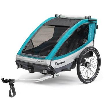 Przyczepka rowerowa QERIDOO SPORTREX 2 - NOWA