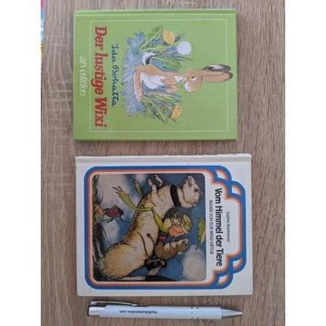 Dwie książeczki dla dzieci po niemiecku
