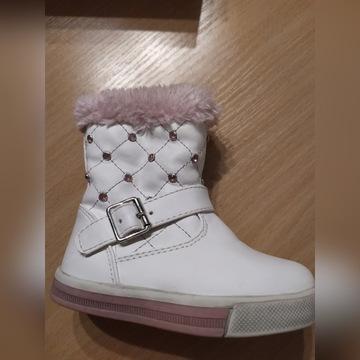 Kozaki buty zima 21 ocieplane