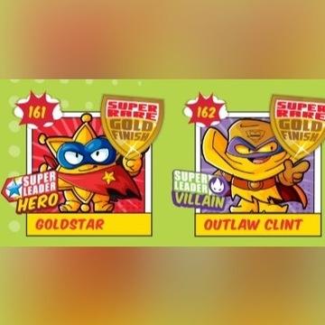 Super Zings ZŁOTE FIGURKI Seria 3 RARE