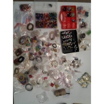 Zestaw do wyrobu biżuterii kolczyków bransoletek