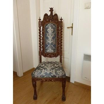 krzesło bogata snycerka