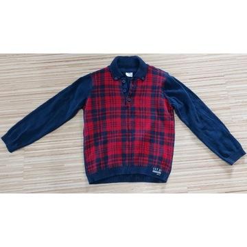 Elegancki sweterek F&F chłopięcy r. 110