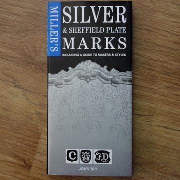 Książka Miller's Silver Marks - znaki punce srebro