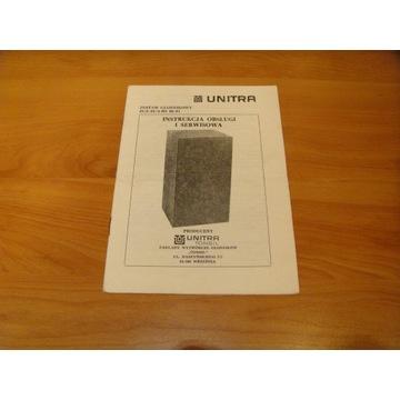 Unitra Tonsil ZGZ20/4 H5 instrukcja obsługi serwis