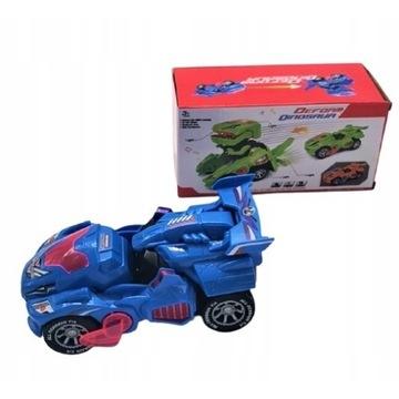 Samochód elektryczny ROBOTRANSFORMER dinozaur 2w1