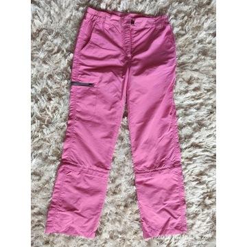 spodnie ocieplane 134 cm firmy crivit jesień zima