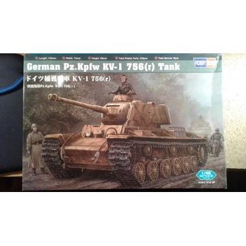 1/48 KW-1 z niemiecką armatą PAK 7,5 cm